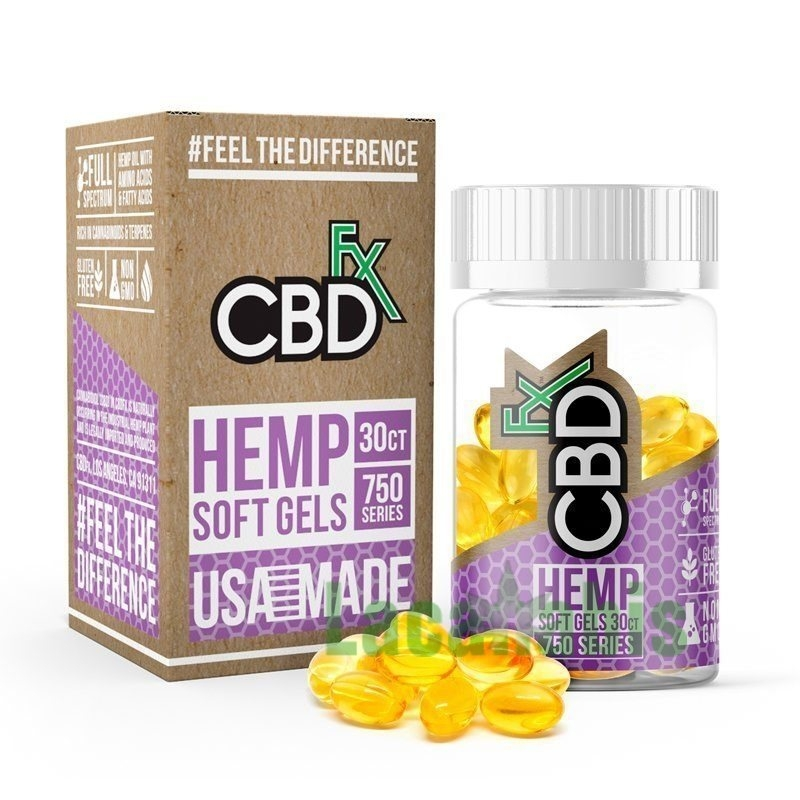 CBD Capsules 750mg(1 bottle)