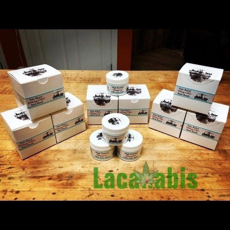 High Potency Cbd Pain Salve